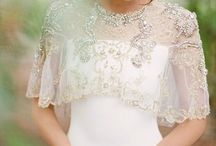 Bridal Capelets and Cover Ups / Cover ups, capes and capelets, alternative to veils for brides