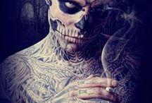 Rick Genest  / Galeria de imagens de Rick Genest  The Zombie Boy