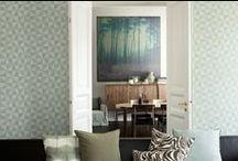 Stue / Tapet skaper vakre rom