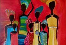 American ,African art,