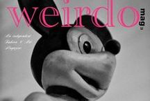 Weirdo.mag Magazine Covers / Issue Covers