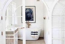 dream spaces: scrub / Bathroom inspo