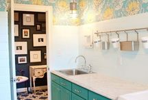 dream spaces: laundry / Laundry room inspiration