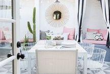 dream spaces: sunbathe / Backyard slash patio inspiration