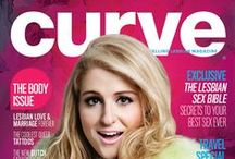 Curve Covers / Latest issue covers posted here. / by Curve Magazine