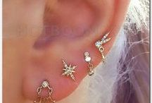 holes / the piercings and their jewelry