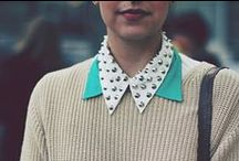 Collar Me Crazy / Collared top trend!