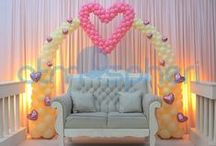 Balloon Wedding Parties Decors, Decorations