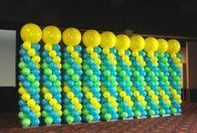 Balloon Columns, Pillars, Decoration