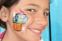 Face painting Doodlers, Small, Quick