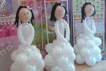 Balloon Christening, Communions, Communie, Doop
