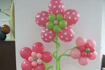 Balloon Flower Arches, Columns, Decorations