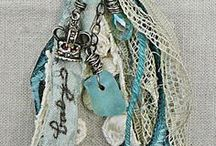 Mixed Media / Tutorials and inspiration on how to make jewelry with mixed materials