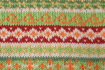 Knitting - details / Sometimes I get lost in how beautiful knitted fabric is...