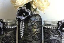 Mason jars ideas / Riciclo creativo