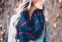 Cool Scarves / Scarves are the perfect accessory to add flair to any outfit (and keep you warm!)