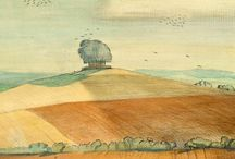 British landscape art / If there's one thing that British artists excel at, it's landscape.  Here are some of my favourites, many from the twentieth century, and mostly paintings. Otherwise the board could break Pinterest...