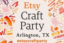 2016 EtsyCraftParty: Arlington, TX / Party down and celebrate craft at the #etsycraftparty brought to you by DFWArtisans and 817ArtsAlliance and held at Sparks Studio in downtown Arlington. More info at http://817artsalliance.blogspot.com/p/dfw-artisans-etsy-craft-party.html .