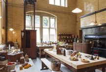 Kitchens in history / Fascinating - even though many surving historic kitchens are from a rather privileged world. Food is still universal, after all...