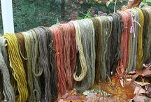 Dyeing yarn / Mostly natural dyes, and mostly yarn... some fluff, some fabric, lots of inspiration.
