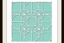 Celtic Knot Stencil - Design Team / Photo Collages featuring the Celtic Knot Stencil.  $23.99 / by Lea France Scrapbooking