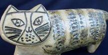 Vintage Ceramics / Earthenware and porcelain. Mostly Mid Century Modern, mostly Scandinavian, mostly birds