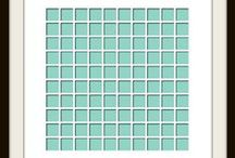 Grid Stencil / This Board shows different Photo Collage layouts all using the Grid Stencil as the design template.  $21.99 / by Discover European Style Scrapbooking