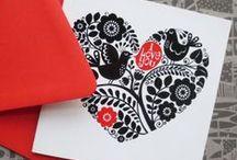 My Greeting Cards / Cards by Galia Bernstein #Valentine #valentinesday