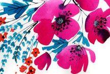 my watercolors / watercolor paintings by Galia Bernstein