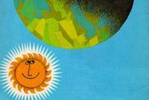 Hello, Mr. Sun! / Vintage, Mod, retro, Mid Century Modern suns