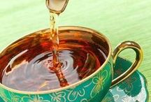 Tea Time / Iced tea, hot tea, green tea, tea for colds, chai teas, comfort tea, sleeping tea, afternoon social tea, tea parties.  When do you drink tea?