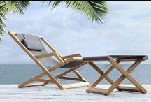 Transats et chaises longues / Steamers and sun loungers / Pour se détendre ou profiter du soleil sur une terrasse ou autour de la piscine...  / For relaxing or soaking up sunshine on the balcony or patio, in the garden or by the pool ...