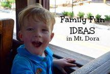 Family Fun! / Mount Dora is full of great family fun activities.