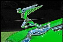 Car Art / The art of cars, badges, grills and hood ornaments from classic designs... / by Bill Mahan