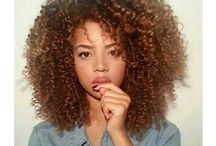 Nap Queen ♕ / NATURAL. Curly, Kinky, Coily. HAIR. / by Savannah S