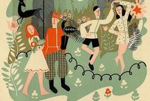 Color and illustration / great illustration and color inspiration