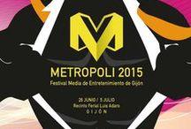 Concurso de Carteles 2015 / Concurso de diseño de carteles de Metrópoli Gijón 2015