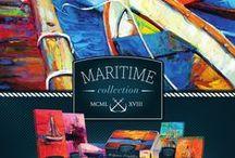 Kolekce MARITIME / Nová řada Maritime s atraktivním designem olejomaleb s motivy moře.