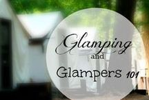 Glamping & Glampers / Breathing new life into vintage trailers and campers.  Ideas, solutions, and incredible transformations for the Glamper!