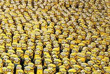 MINIONS!!!! / Minions are soooo cute and they make me laugh which makes my day so have a good look and u might just find something great!!