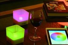 Smart Candle Light / A Bluetooth-controlled candle light which brings romance and convenience into your interior.