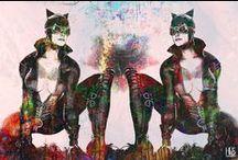 Artworks by the artist Helt Sort / Portfolio of urban art, graffiti, pop art, street art, contemporary and modern art.
