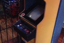 Máquinas arcade chilenas / Arcade Chile Delta junior Fox Robot