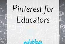 Pinterest for Educators / Information about using Pinterest for educators
