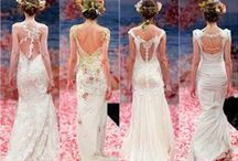 Wedding dress designs ideas / When I get married I would love to design my own wedding dress.  What I'll pin: - Ideas - trends ...