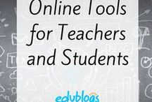 Online Tools for Teachers and Students / Various online tools that educators and students can use to create, collaborate and communicate.
