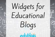 Widgets for Educational Blogs / Popular tools used by educators and students for creating widgets for class blogs, student blogs or class websites | Edublogs