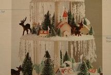"""Ideas to Inspire...Creative Christmas Decor!!! / The Primitive Pinecone staff LOVES to see when others think """"OUTSIDE THE BOX"""" when decorating!  Similar Christmas decorating items may be found in our gift shop!"""