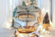 Antique Christmas,...Reuse, Recycle, Repurpose!!! / A little bit of history, utilized in a new way, can add to your Christmas displays!