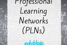 Being a Connected Eductor and Professional Learning Networks / Resources to help you become a more connected educator and build your PLN (Professional Learning Network)